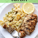 Za'atar Grilled Chicken and Pasta