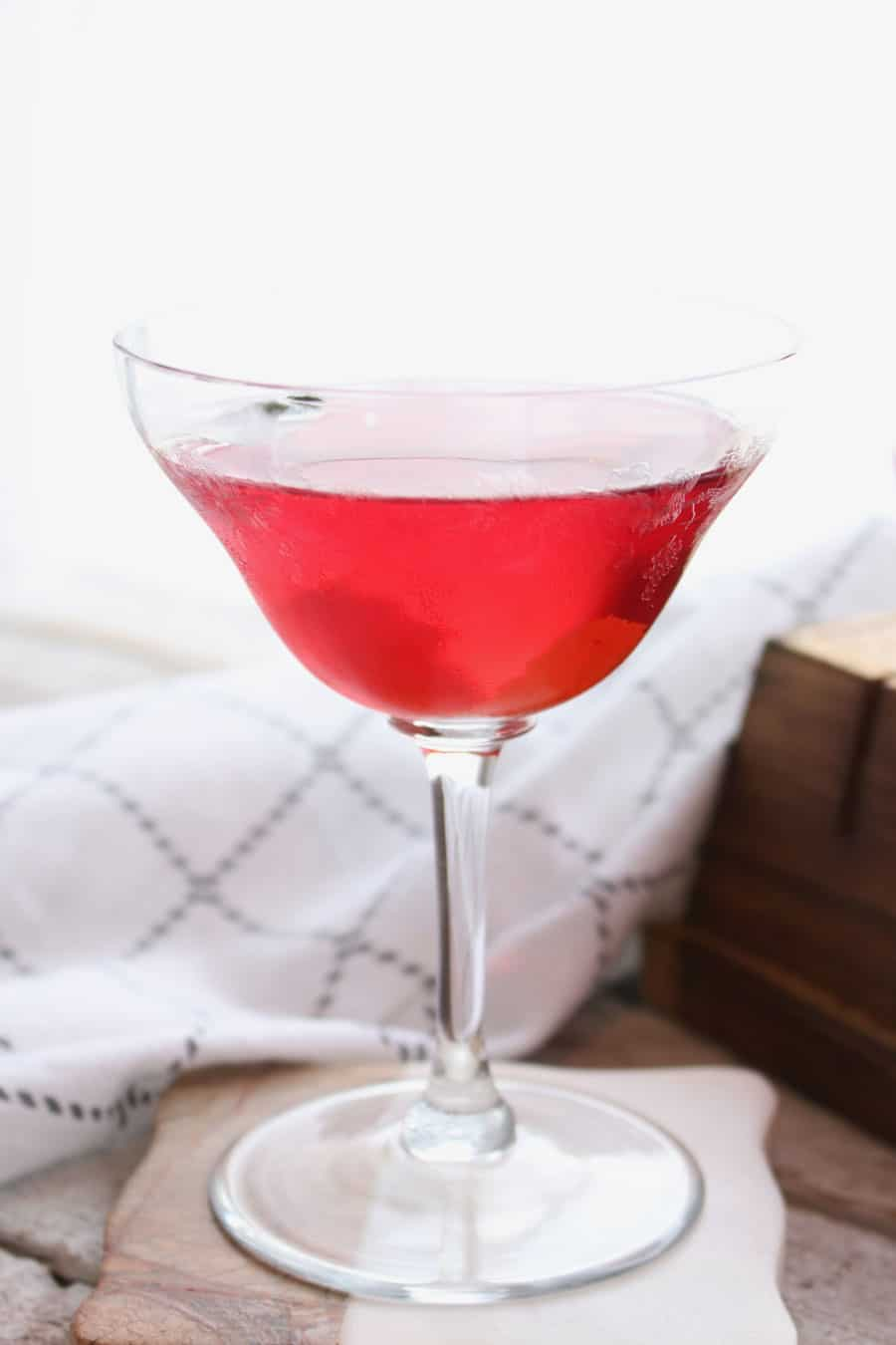 Cranberry Sage Martini single glass
