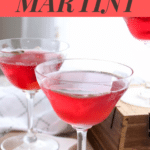 Cranberry Sage Martini