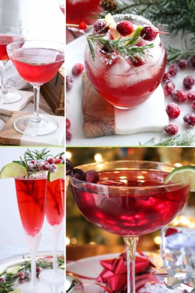 Cranberry Cocktails