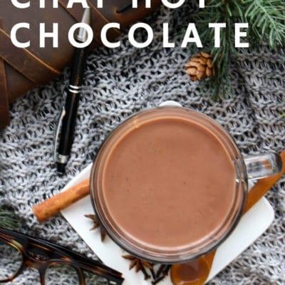 Easy Chai Hot Chocolate