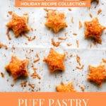 Puff Pastry Cheese Stars