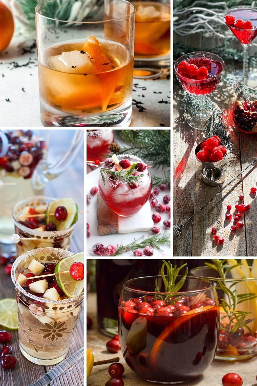 10 Christmas and Holiday Cocktails from Top Bloggers. From tequila to rum, to Aperol, to wine - something for everyone. via @krazykitchenmom