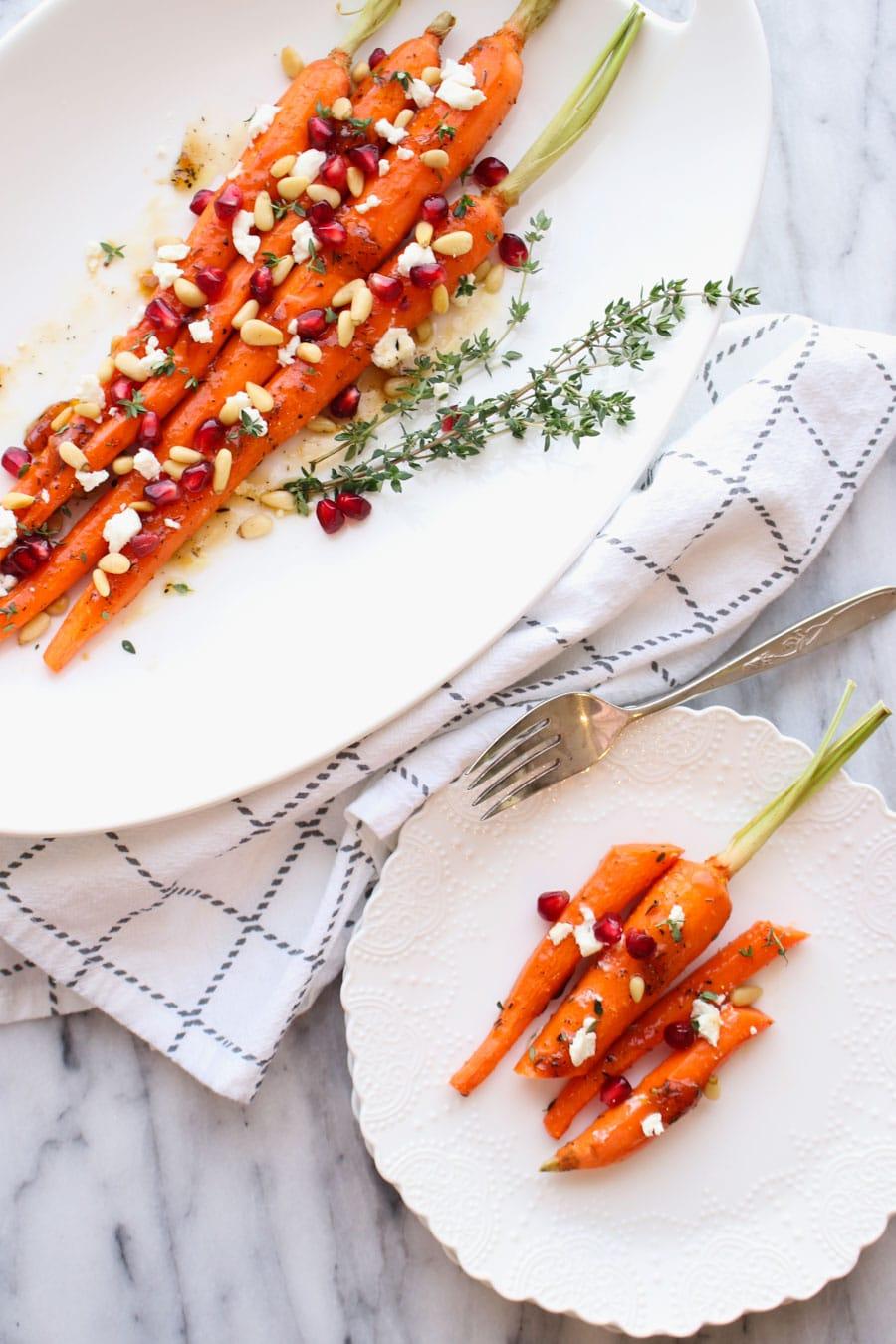 Apricot Honey Glazed Carrots