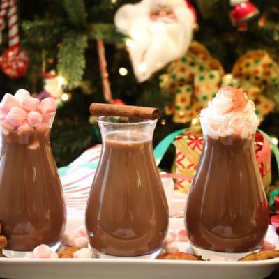 How to Make Hot Chocolate Three Ways