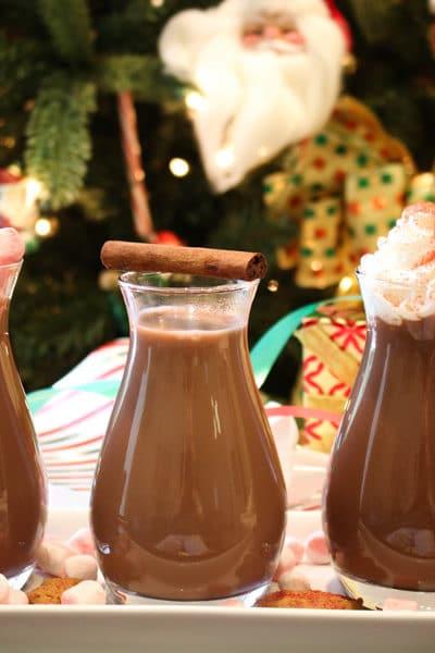 Hot chocolate flight