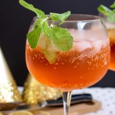 NYE Aperol spritz - one glass