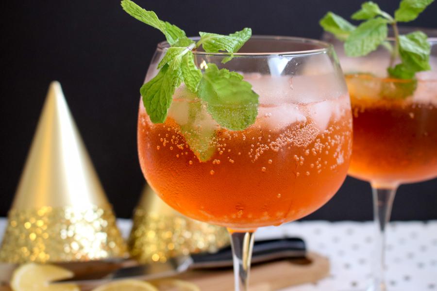 NYE Aperol spritz - one glass