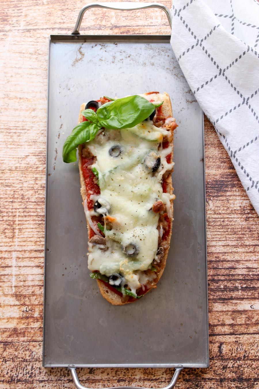 Supreme French Bread Pizza