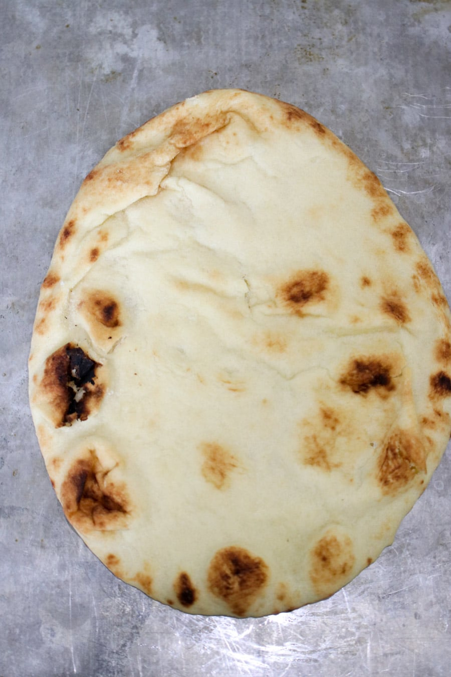 Piece of naan bread