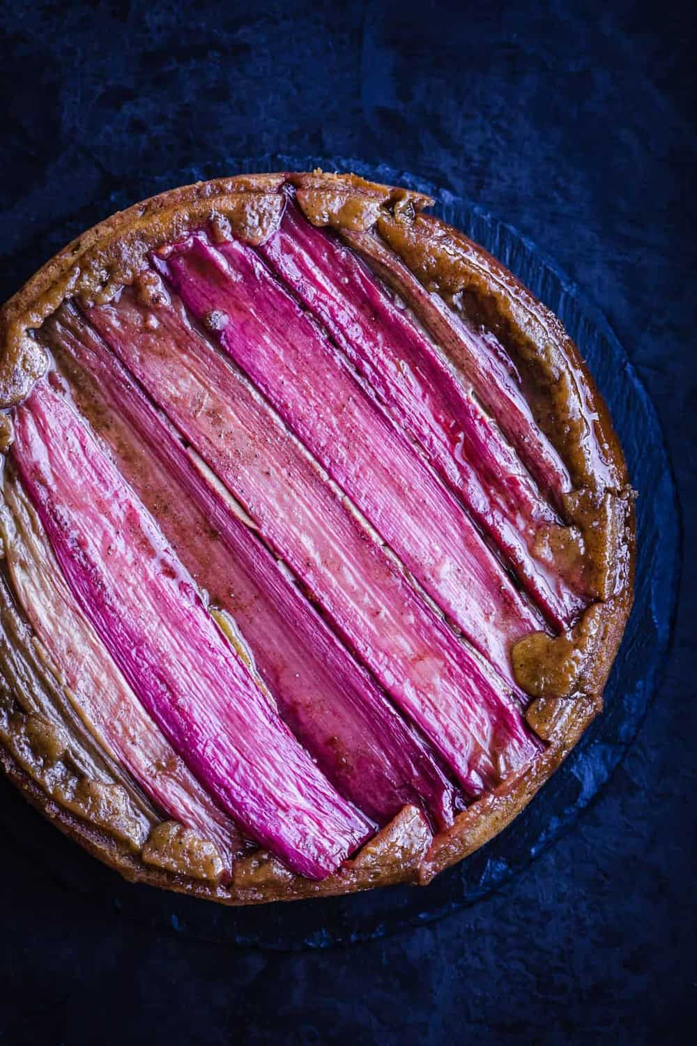 rhubarb pie - what to eat in april