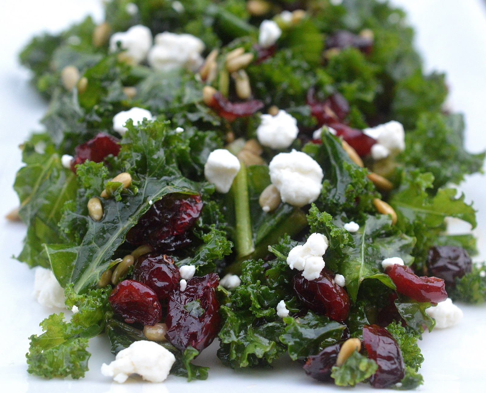 kale salad - what to eat april