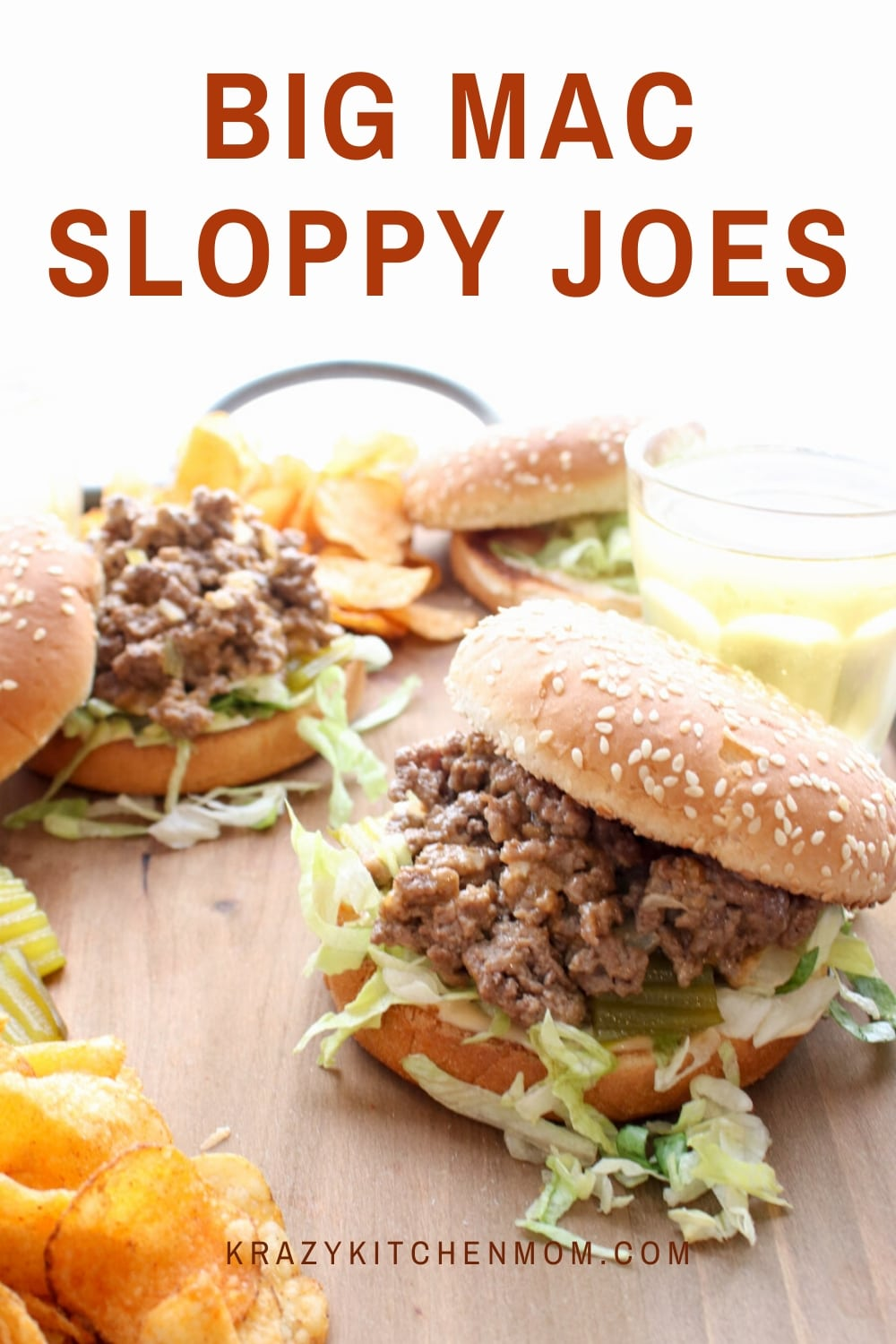 Roll up your sleeves because you are going to want to dig into theseBig Mac Sloppy Joeswith both hands. The recipe comes together in under 15 minutes and it tastes EXACTLY like a Big Mac! via @krazykitchenmom