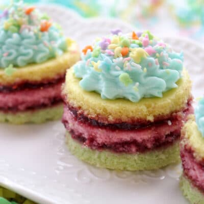 Easter Mini Layer Cakes