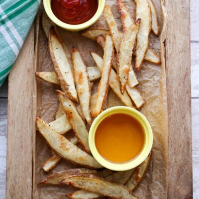 Baked Salt and Vinegar Fries
