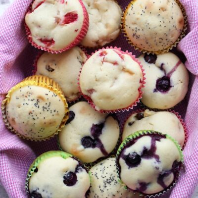 Basic Muffin Recipe With Variations