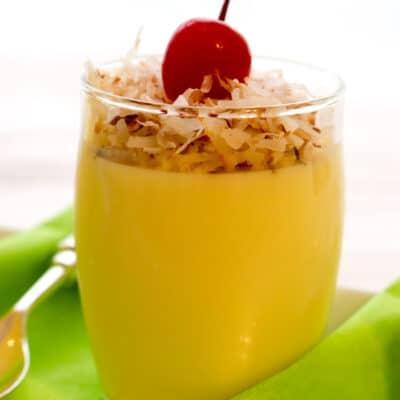 Pineapple Yogurt Jello Parfait