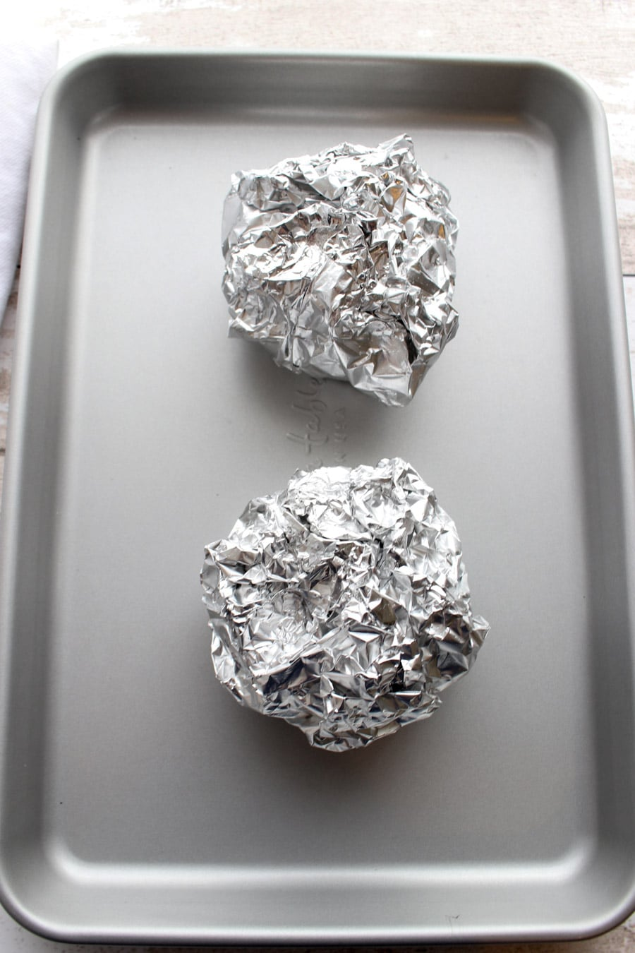 beets wrapped in foil
