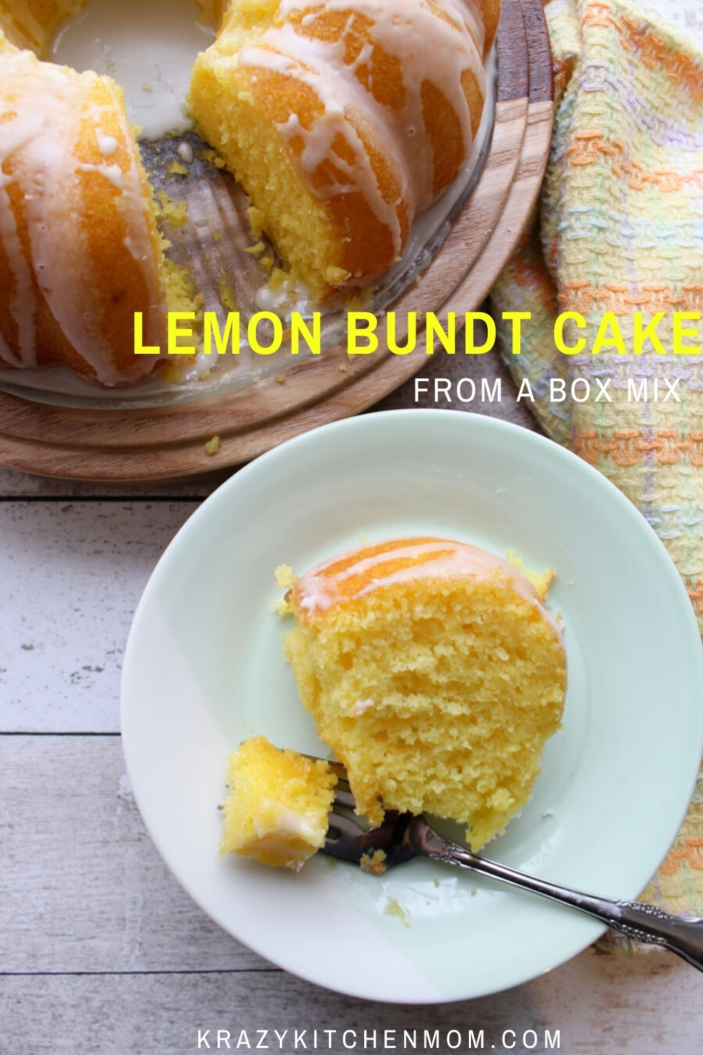 Calling all my lemon lovers! I have the lemon bundt cake recipe of your dreams. The ultimate dessert recipe for anyone who loves the flavor of lemon.