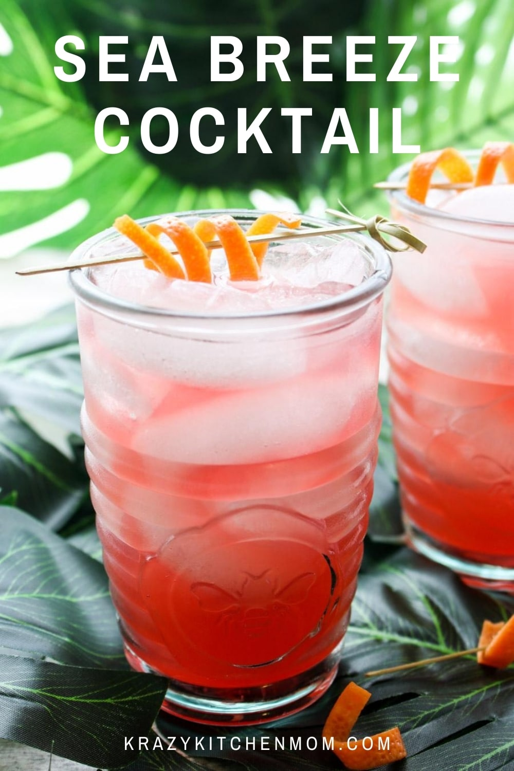 It's summertime...time for sunglasses, flip flops, floppy hats, and lounging in the sun. It's also time for my go-to summer sipping Classic Sea Breeze cocktail.  via @krazykitchenmom