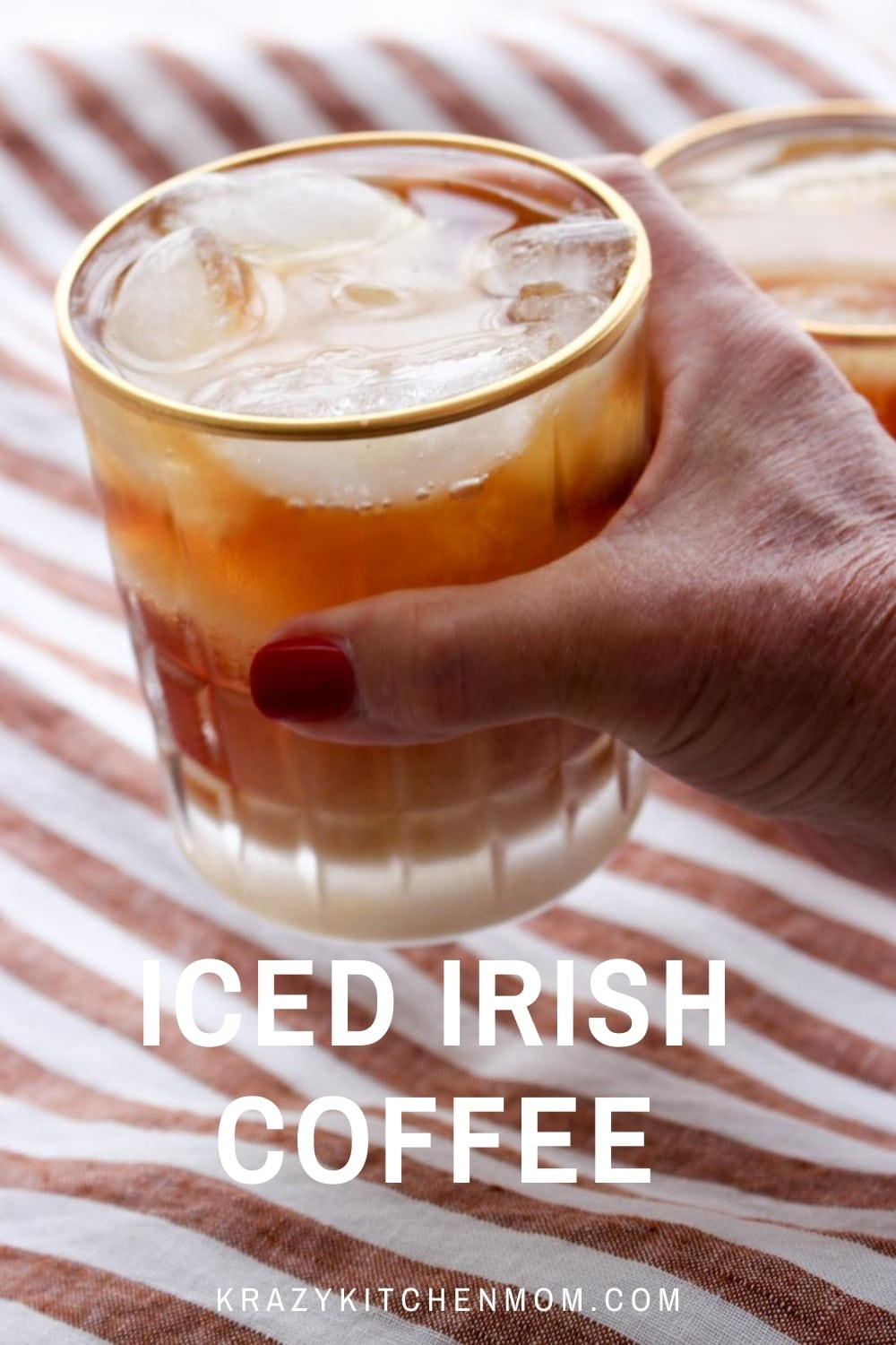 Gather your family and friends, pull up a chair at the patio table, and enjoy your favorite Irish Whiskey wintertime drink over ice. via @krazykitchenmom