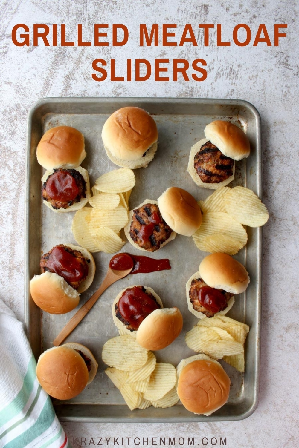Grilled Meatloaf Sliders are a whole new way to enjoy a family favorite. Mama's classic meatloaf meets family-friendly handheld grilled sliders. As an afternoon snack, a family cookout, or a casual dinner on the patio, sliders are always a big hit. via @krazykitchenmom