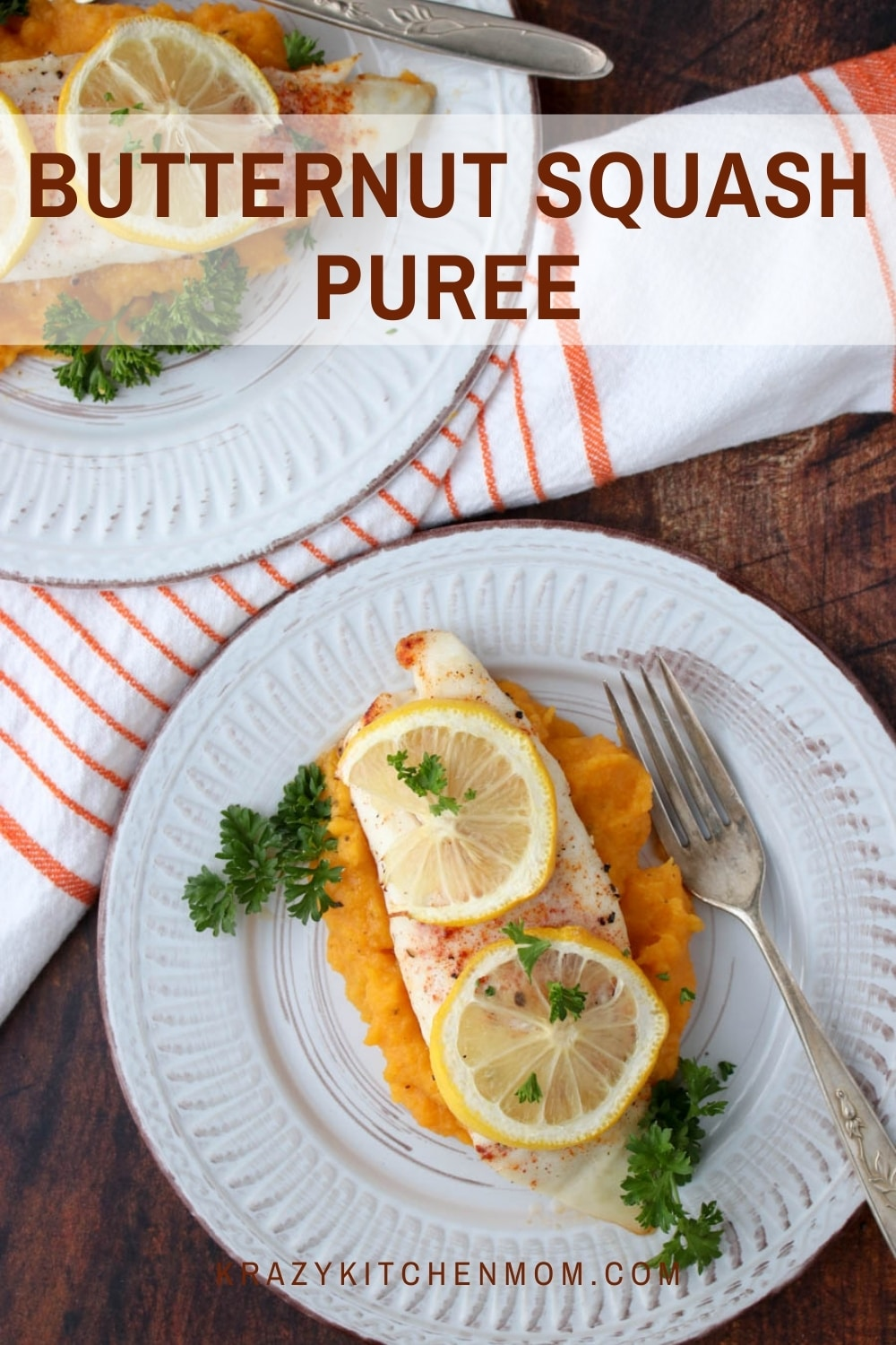 Four simple ingredients can take an everyday dish and turn it into an elegant restaurant-style dish with my butternut squash puree recipe.  via @krazykitchenmom
