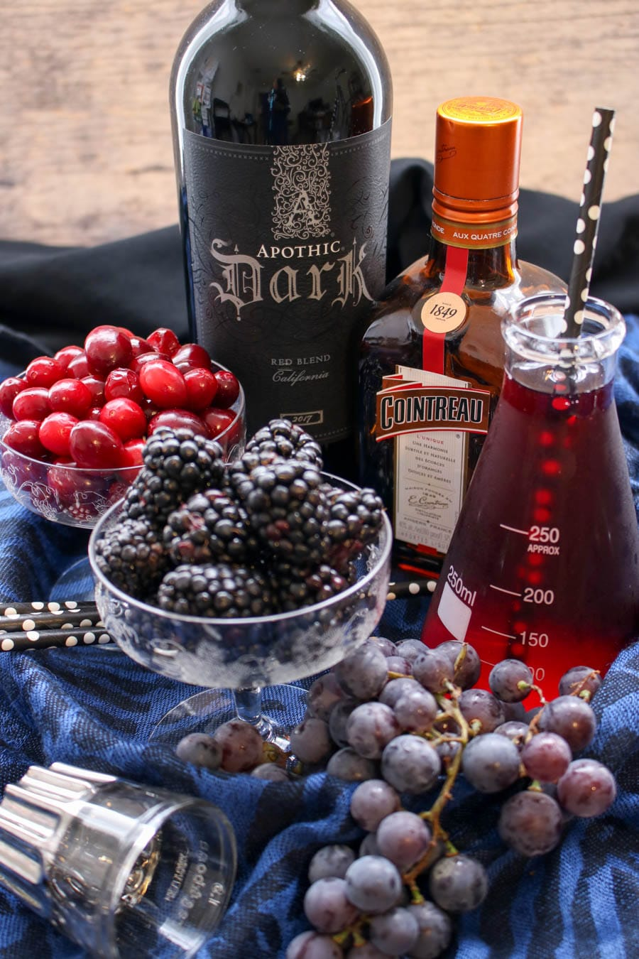 Black Sangria Ingredients