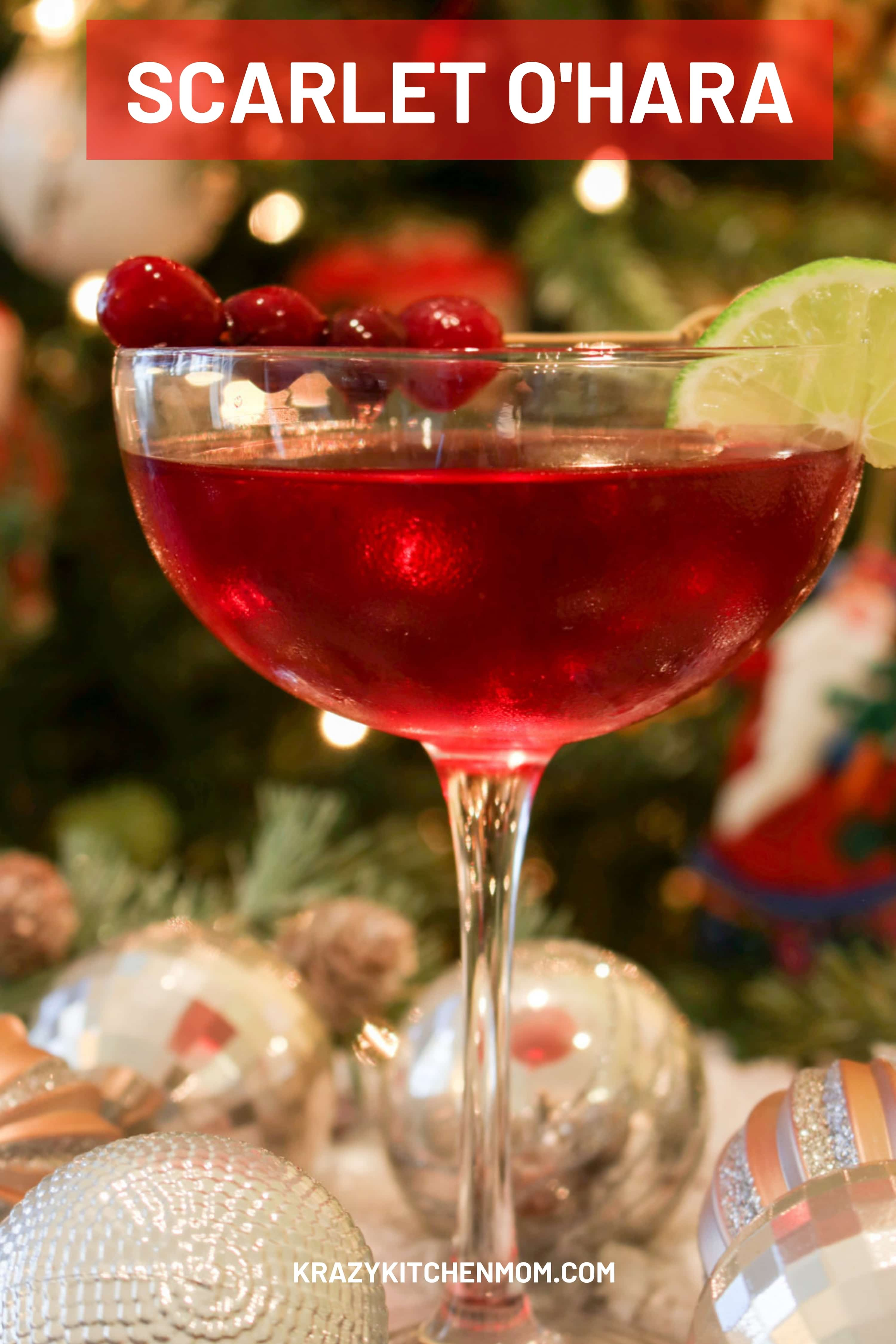 This nostalgic cocktail is a tradition in my family. We only make and serve it during the holidays between Thanksgiving Day and New Year's Day. via @krazykitchenmom