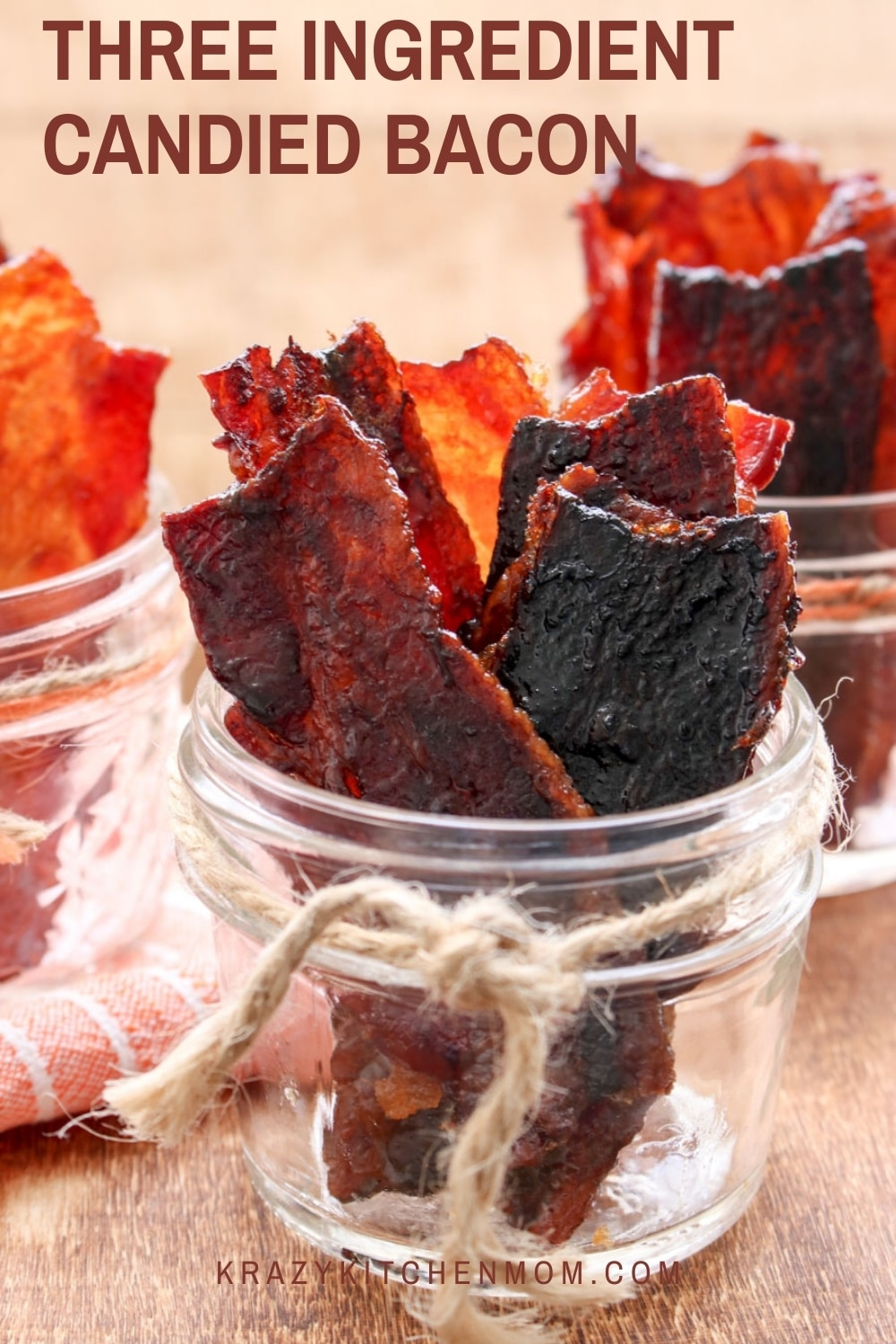 Crispy, crunchy, sweet, salty pieces of candied bacon are irresistible.  via @krazykitchenmom