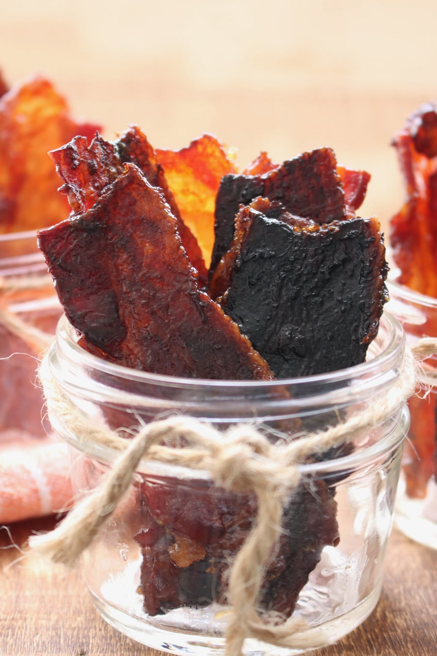 3 jars of candied bacon