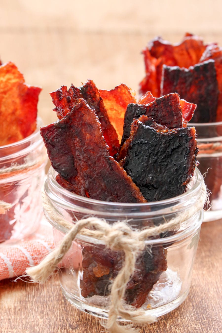 JAR OF CANDIED BACON