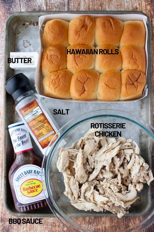 Rotisserie chicken sandwich ingredients