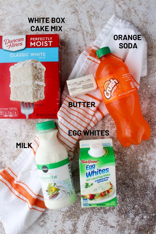 creamsicle cupcake ingredients