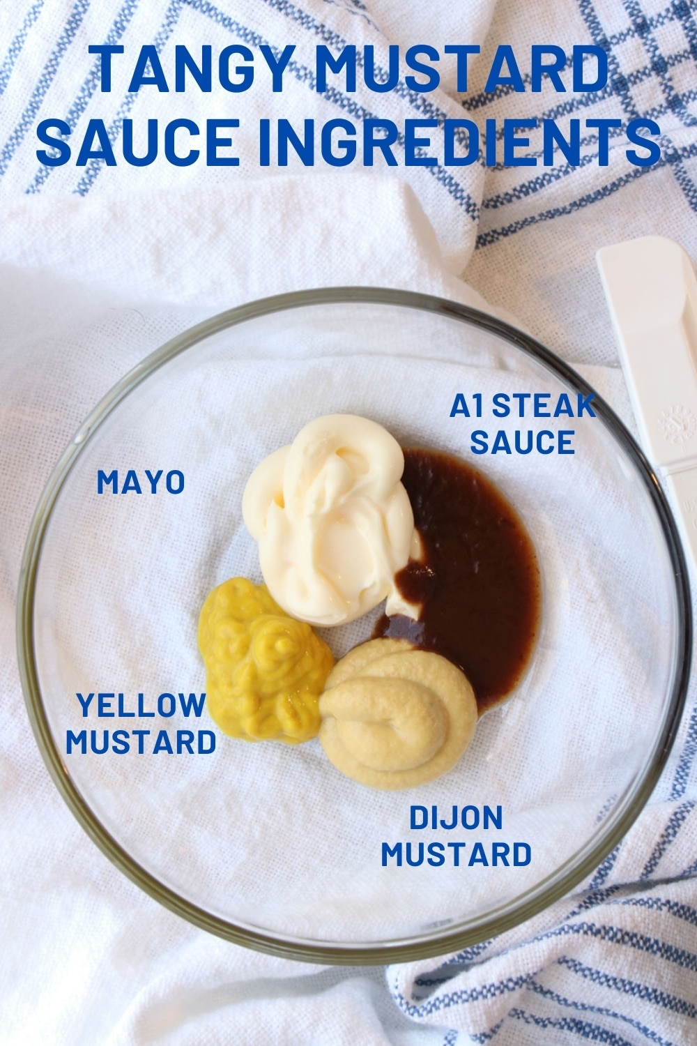 a bowl with mustard sauce ingredients