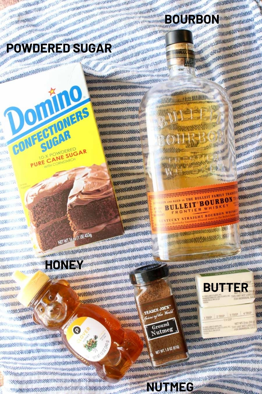 Ingredient is bourbon butter sauce