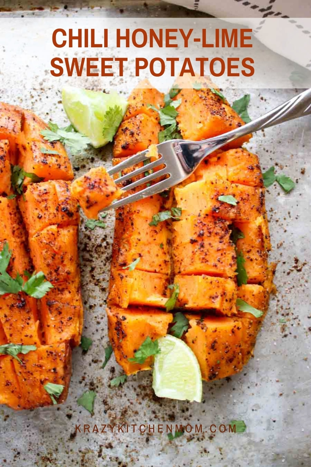 Sweet, spicy, savory sweet potatoes are slow-roasted creating a mouth-watering cartelized flavor. Serve them with chicken, steak, or as a meal by themselves. via @krazykitchenmom