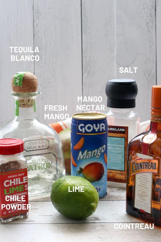 Ingredient in mango margarita