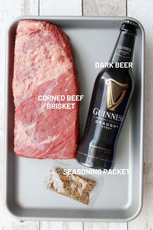 INGREDIENTS TO MAKE CORNED BEEF BRISKET