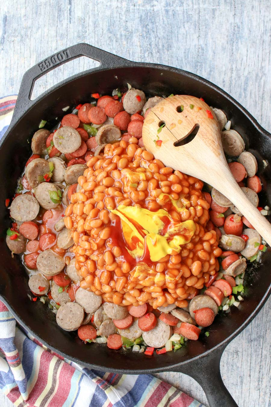 how to make beans and weenies