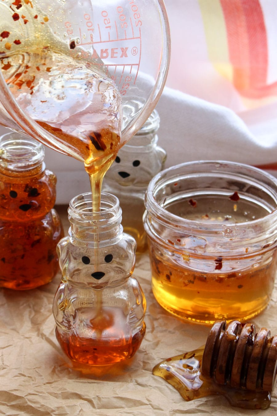 how to make hot honey