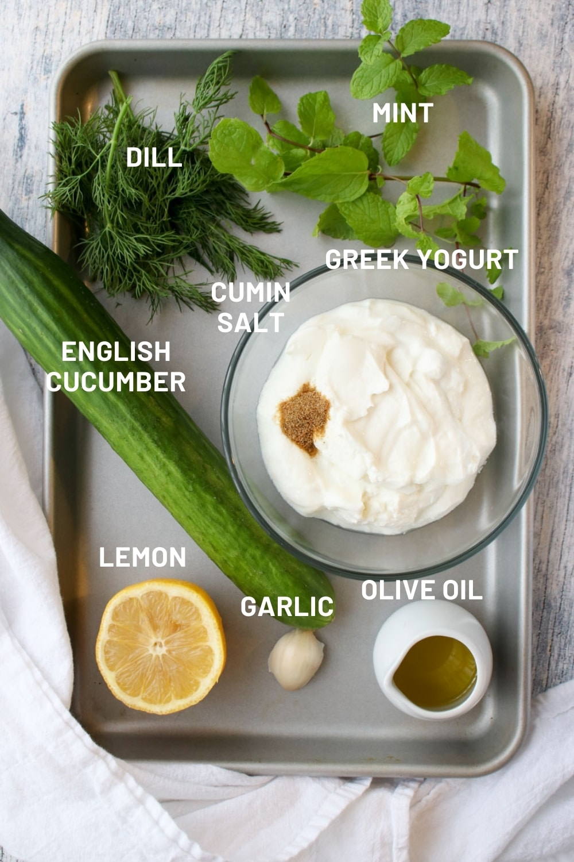 yogurt cucumber ingredients
