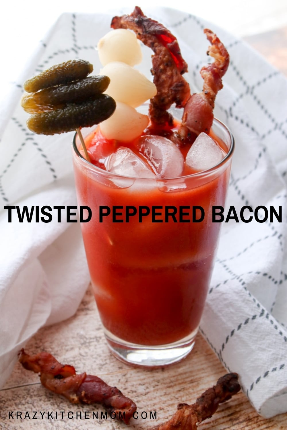 Make bacon the star of breakfast with this social medial sensation - twisted bacon. This bacon is baked and makes cleanup a breeze.  via @krazykitchenmom